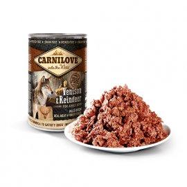 Carnilove VENISON & REINDEER консервы для собак (дичь и северный олень), 400 г