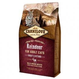 Carnilove REINDEER ENERGY (СЕВЕРНЫЙ ОЛЕНЬ ЕНЕРДЖИ) корм для активных кошек