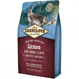 Carnilove SALMON ADULT SENSITIVE (ЭДАЛТ ЛОСОСЬ СЕНСЕТИВ) корм для кошек