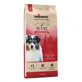 Chicopee CNL ADULT ACTIVE CHICKEN & RICE сухой корм для активных собак всех пород КУРИЦА И РИС
