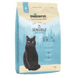 Chicopee CNL SENSIBLE LAMB гипоаллергенный корм для взрослых кошек ЯГНЕНОК