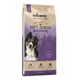 Chicopee CNL SOFT SENIOR CHICKEN & RICE сухой корм для пожилых собак всех пород КУРИЦА И РИС