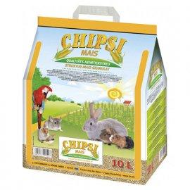 Chipsi MAIS наполнитель кукурузный для грызунов, 10 л