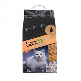 Saniсat (Саникет) Professional Clumping - комкующийся наполнитель для кошачьего туалета без запаха, 5 л