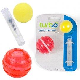 Coastal (Костал) TURBO SCENT LOCKET BALL (СЕНТ ЛОКЕР БОЛЛ) игрушка для котов, мяч с кошачьей мятой