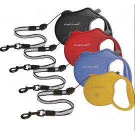 Collar (Коллар) - Поводок-рулетка с тросом со светоотражающей лентой Control MEDIUM (РАСПРОДАЖА - СКИДКА 20%)