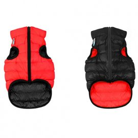Collar (Коллар) AIRY VEST (ЕЙРИ ВЕСТ ДВУСТОРОННЯЯ) куртка для собак, красно-черный