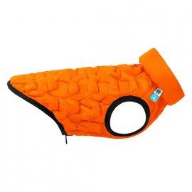 Collar AIRY VEST UNI двусторонняя эластичная куртка для собак, оранжево-черная