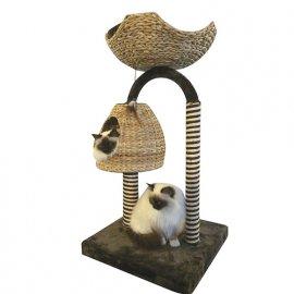 Croci AZALEA когтеточка-домик для кошек