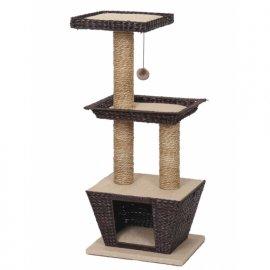 Croci BETULLA когтеточка с домиком для кошек