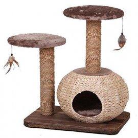 Croci BONSAI когтеточка с домиком для кошек
