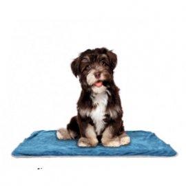 Croci CARESS подстилка для собак и кошек, синяя, 100 х 70 см