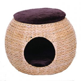 Croci NUTSHELL когтеточка-пуф для кошек