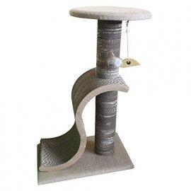 Croci PAPERCAT LOUNGE когтеточка-столбик для кошек, гофракартон