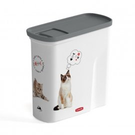 Curver PetLife Cat 2 L (1 кг) Контейнер для хранения сухого корма для кошек