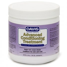 Davis ADVANCED CONDITIONING TREATMENT кондиционер супернасыщенный для собак и котов, 454 мл