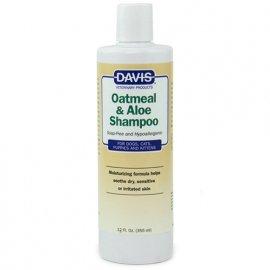 Davis OATMEAL & ALOE шампунь гипоаллергенный для собак и котов, концентрат
