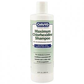 Davis MAXIMUM CHLORHEXIDINE шампунь с 4% хлоргексидином для собак и котов