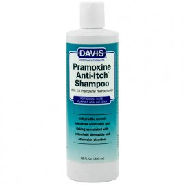 Davis PRAMOXINE ANTI-ITCH SHAMPOO шампунь от зуда для собак и котов