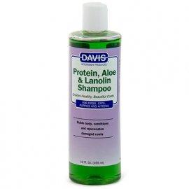 Davis PROTEIN, ALOE & LANOLIN шампунь для собак и котов, концентрат