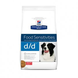 Hill's Prescription Diet d/d Food Sensitivities корм для собак с лососем и рисом