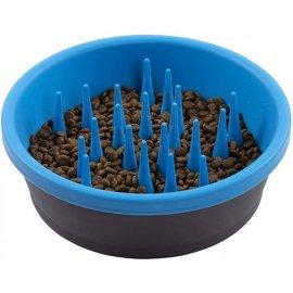 Dexas FEEDER SLOW DOG BOWL миска силиконовая для медленного кормления