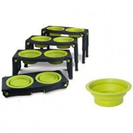 DEXAS Replacement Bowls, Collapsible Feeders - Сменные миски для модели с регулируемыми ножками
