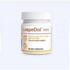 Dolfos (Дольфос) LESPEDOL MINI (ЛЕСПЕДОЛ МИНИ) добавка при заболеваниях мочевыводящей системы собак и кошек 60 (мини) табл (20 г)
