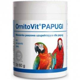 Dolfos (Дольфос) ORNITOVIT PARROTS (ОРНИТОВИТ ПЭРРОТС) витаминно-минеральная добавка для крупных попугаев, 60 г