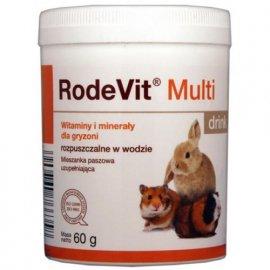 Dolfos (Дольфос) RODEVIT MULTI DRINK (РОДЕВИТ МУЛЬТИ ДРИНК) витаминная добавка для кроликов и грызунов 60 г