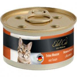 Edel Cat Мousse Консервы для кошек - нежный мусс, ФАЗАН