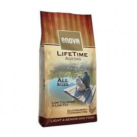 Enova LifeTime AGEING корм для собак старше 7 лет, малоактивных или с избыточным весом КУРИЦА