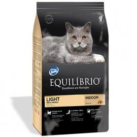 Equilibrio ADULT LIGHT корм для котов склонных к полноте (курица/рыба)