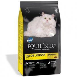 Equilibrio ADULT LONG HAIR корм для длинношерстных котов (курица/рыба)