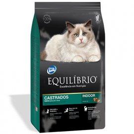 Equilibrio MATURE NEUTERED корм для стерилизованных кошек и кастрированных котов от 7 лет (курица/рыба)
