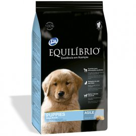 Equilibrio PUPPY LARGE BREED корм для щенков крупных пород (курица), 15 кг