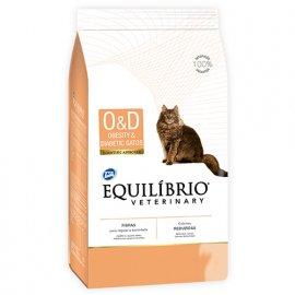 Equilibrio Veterinary OBESITY & DIABETIC лечебный корм для котов c избыточным весом