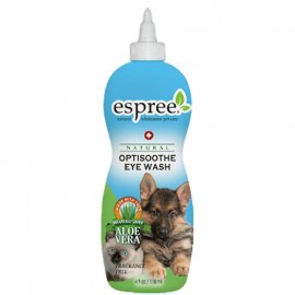 ESPREE (Эспри) ALOE OPTISOOTHE EYE WASH & CLEAR RINSE Натуральное моющее средство для глаз (для собак и кошек), 118 мл