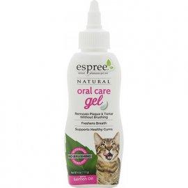 Espree Oral Care Salmon Gel гель для ухода за зубами с маслом лосося для кошек, 118 мл