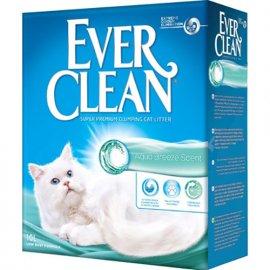Ever Clean AQUA BREEZE комкующийся наполнитель для кошачьего туалета, морской бриз