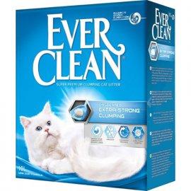Ever Clean EXTRA STRONG комкующийся наполнитель для кошачьего туалета, без аромата