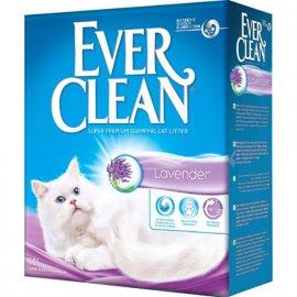 Ever Clean LAVENDER комкующийся наполнитель для кошачьего туалета, с ароматом лаванды