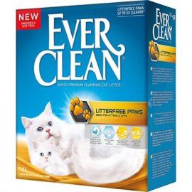 Ever Clean LITTERFREE PAWS комкующийся наполнитель для кошачьего туалета