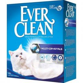 Ever Clean MULTI-CRYSTALS комкующийся наполнитель для кошачьего туалета