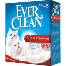 Ever Clean MULTIPLE CAT комкующийся наполнитель для кошачьего туалета