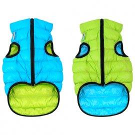 Collar (Коллар) AIRY VEST (ЕЙРИ ВЕСТ ДВУСТОРОННЯЯ) куртка для собак, салатово-голубой