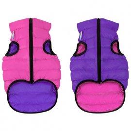 Collar (Коллар) AIRY VEST (ЕЙРИ ВЕСТ ДВУСТОРОННЯЯ) куртка для собак, розово-фиолетовый