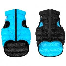 Collar (Коллар) AIRY VEST (ЕЙРИ ВЕСТ ДВУСТОРОННЯЯ) куртка для собак, черно-голубой