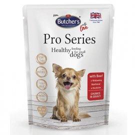 Butcher`s Pro series Beef консервы для собак мелких пород ГОВЯДИНА в соусе, 100 г