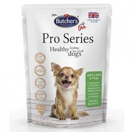 Butcher`s Pro series Lamb & Peas консервы для собак мелких пород ЯГНЕНОК в соусе, 100 г